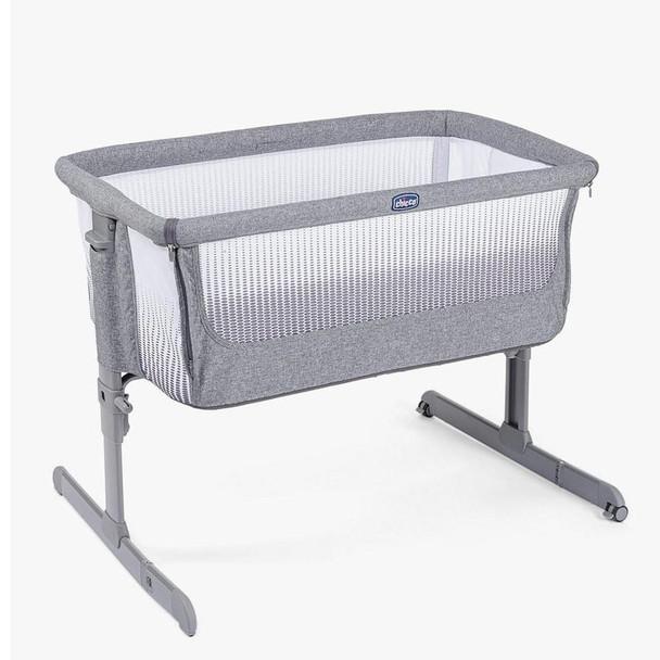 Chicco Next2Me Air Side Sleeping Crib Titanium