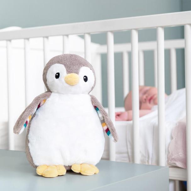 ZAZU Phoebe The Penguin Baby Sleep Shusher