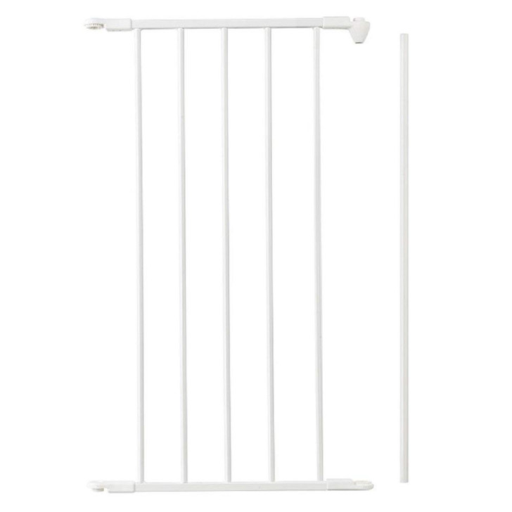 BabyDan 46 cm Extension Section - White (6847)