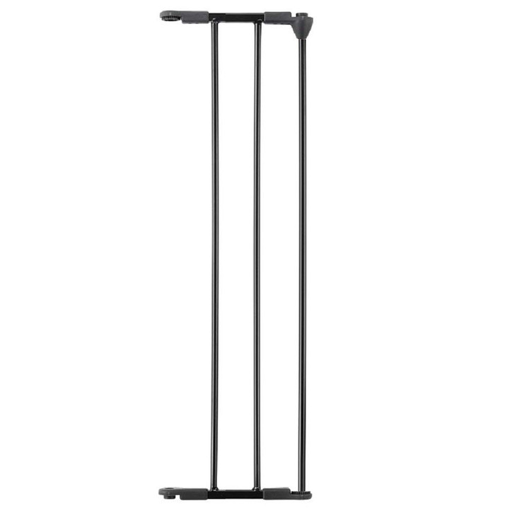 BabyDan 20 cm Extension Section - Black (6850)
