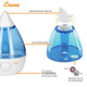 Product Crane Drop Cool Mist Humidifier - Blue