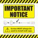 Dreambaby Cosmopolitan Wood/Metal Pressure Safey Gate notice