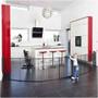 BabyDan Room Divider XXL Black 90-350cm + Wall Fittings