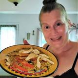 Kitchen Adventure #10 to Somalia - Bariis Ishkukaris (Rice with Chicken)