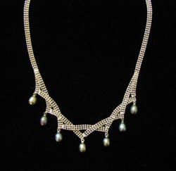 Fair Trade Midnight Pearl Necklace from China
