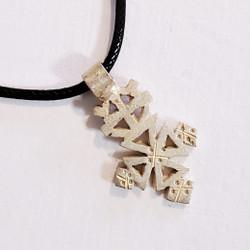 fair trade coptic cross pendant necklace from Ethiopia