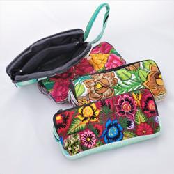 Fair Trade Repurposed Embroidered Huipil Wristlet from Guatemala