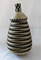 Fair Trade Sisal and Sweet Grass Basket from Rwanda