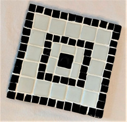 Fair Trade Glass Mosaic Trivet from Lebanon.