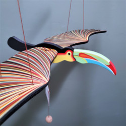 Fair Trade Flying Toucan Mobile from Colombia