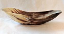 Fair Trade Ankole Cow Horn Bowl from Uganda