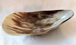 Fair Trade Ankole Cow Horn Bowl from Uganda