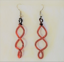 Fair Trade Wire Spring Earrings from Lesotho