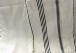 Fair Trade Hand Loomed Cotton Bath Sheet or Throw Blanket from Turkey