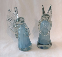 Fair Trade Recycled Glass Angel from Guatemala