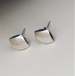 Fair Trade Sterling Silver Post Earrings from Peru