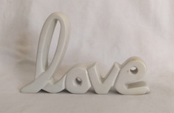 Fair Trade Carved Soapstone Love from Kenya