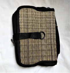Fair Trade Woven Reed Cosmetic Bag from Cambodia