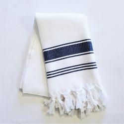 Fair trade hand loomed turkish cotton hand towel