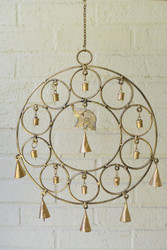 Fair Trade Copper Annealed Chime from India