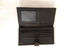 Fair Trade Leather Snap Close Wallet from Nepal