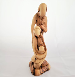 Fair Trade Carved Olivewood Holy Family from Palestine