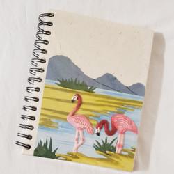 Fair Trade Elephant Pooh Paper Spiral Journal from Sri Lanka