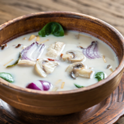 Fair Trade Thai Food Tom Kha Soup Organic Meal Kit from Thailand