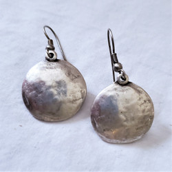 Fair Trade Silver Plated Pewter Earrings from Turkey