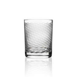 Cyclone double old fashioned drinking glass from United States