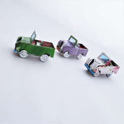 Fair Trade Mini Tin Can Open Top All Terrain Vehicle from Madagascar