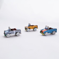 Mini Tin Can Open Top Small All Terrain Vehicle from Madagascar