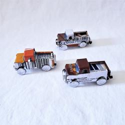 Fair Trade Mini Tin Can Pickup Truck from Madagascar
