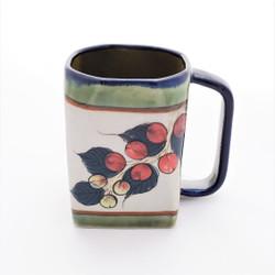 Fair Trade hand painted ceramic mug from Guatemala