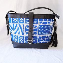 Fair Trade Batik Bark Weave Cloth Purse from Zimbabwe