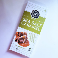 Fair Trade Milk Chocolate Sea Salt Caramel
