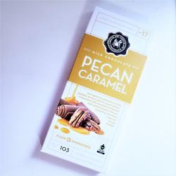 Fair Trade Milk Chocolate Pecan Caramel
