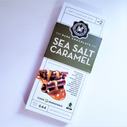 Fair Trade Dark Chocolate Sea Salt Caramel