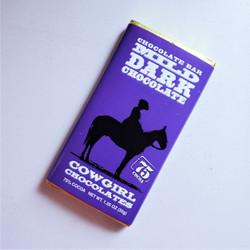 ethically sourced milk dark chocolate truffle bar