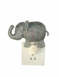Fair trade beaded elephant night light from Haiti