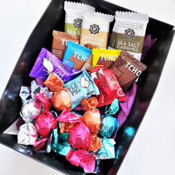 fair trade ethically sourced chocolate sampler