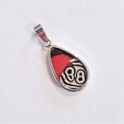 Fair Trade Butterfly Wing Pendant from Peru