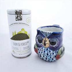 Fair Trade Organic Farm and Forest Drinking Tea