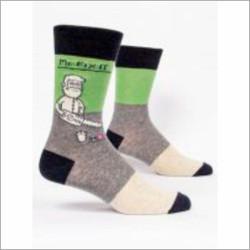 Mr Fix it crew socks for men