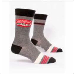 certified pain in the ass crew socks for men