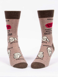 There are A**holes Everywhere Crew Socks for Men
