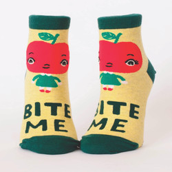 Bite Me Ankle Socks for Women