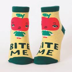 Bite Me Ankle Socks for Women