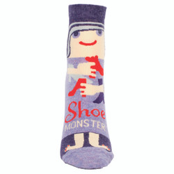 Shoe Monster Ankle Socks for Women