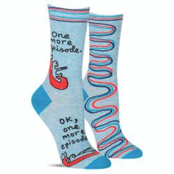 One More Episode Crew Socks for Women